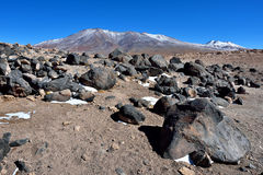 The Sairecabur volcanic group Royalty Free Stock Photography