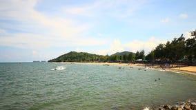 Sairee Beach, Chumphon Thailand stock footage
