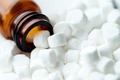 Sais homeopaticamente do tecido Imagem de Stock