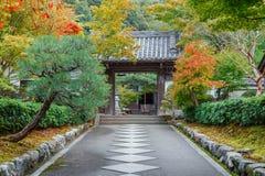 Saisho在, Nanzen籍寺庙一个次级寺庙在京都 免版税库存照片