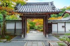 Saisho在, Nanzen籍寺庙一个次级寺庙在京都 库存照片