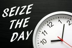 Saisissez le jour Image libre de droits