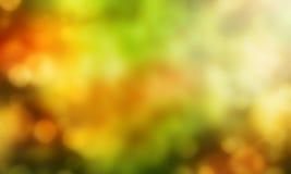 Saison abstraite d'automne de fond Photographie stock libre de droits