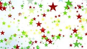 Saison d'étoile de Noël banque de vidéos