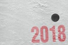 Saison d'hockey 2018 Photographie stock