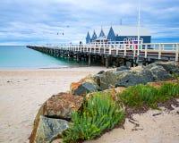 Saison de cyclone dans l'Australie occidentale Photos stock