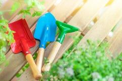 Saison de jardinage Photographie stock libre de droits