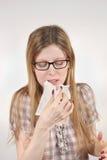 Saison de la grippe Photographie stock libre de droits