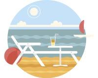 Saison de plage Photographie stock