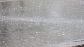 Saison de pluie banque de vidéos