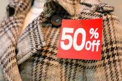 Saison de ventes de l'hiver Photographie stock libre de droits