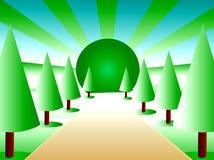 saison du soleil illustration libre de droits