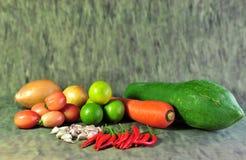 Saison- Gemüse-Thailand lizenzfreie stockfotos