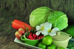 Saison- Gemüse-Thailand stockfotos