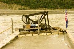 Saison saumonée en Alaska photos libres de droits