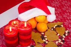 Saisonal Weihnachtszusammensetzung Lizenzfreies Stockfoto