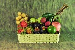 Saisonfrucht Thailand lizenzfreie stockfotos