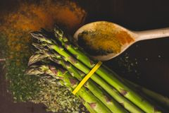 Saisongemüse, Mahlzeitbestandteile Stockfoto