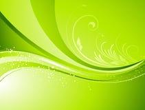 Saisonnaturzusammenfassungshintergrund Eco-Vektor Stockfotos