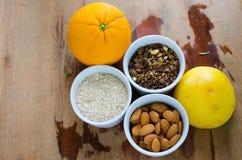 Saisons brésiliennes et fruits Photos stock
