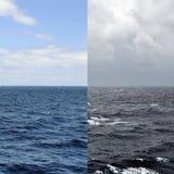 Saisons de paysage marin Photos libres de droits