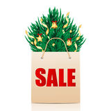 Saisonweihnachtsverkauf Stockfoto