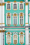 SAIT PETERSBURG, RUSSIAN FEDERATION – MAY 11,. 2014: Photo of The State Hermitage Museum exterior fragment Stock Photography