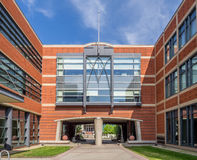 SAIT Polytechnic school buildings Royalty Free Stock Images