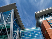 SAIT Polytechnic school buildings Royalty Free Stock Image