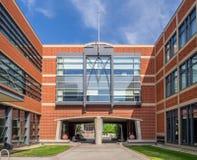 SAIT-Polytechnische schoolgebouwen Royalty-vrije Stock Afbeeldingen