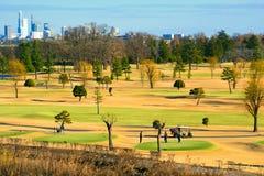 Saitama-Golfplatz nahe Tokyo stockfoto