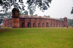 Saith Gumbad Masjid Royalty Free Stock Photos