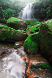 Saithip waterfall in Phu Soi Dao National Park Stock Images