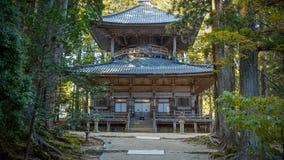 Saito (western Stupa) at Danjo Garan Temple in Koyasan area in Wakayama Royalty Free Stock Photo