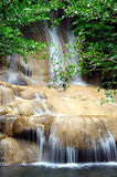 Saiyok Noi waterfall, Thailand Stock Photos
