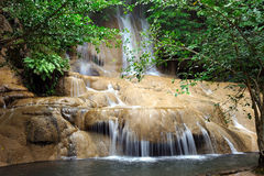 Saiyok Noi waterfall, Thailand Royalty Free Stock Photos