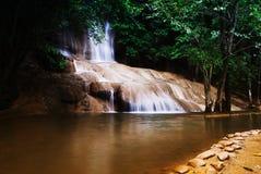 Saiyoknoi vattenfall Fotografering för Bildbyråer