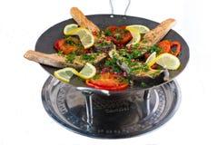 Saj kebab Royalty Free Stock Image
