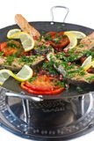 Saj kebab Stock Images
