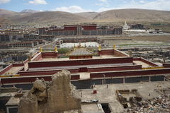 Sajia temple stock photo