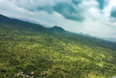 Sajjangad-Maharashtra Indien Stockfotografie