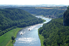 Sajonia suiza Fotografía de archivo libre de regalías