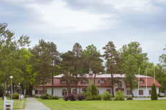 Saka Manor, Estonia. Farm attraction in the province of Estonia, Saka Manor Royalty Free Stock Image