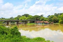 Sakae Krang River Immagini Stock