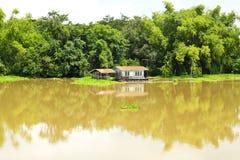 Sakae Krang River Fotografia Stock Libera da Diritti