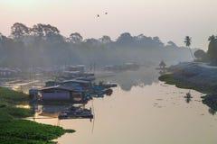 Sakae Krang River Immagine Stock Libera da Diritti