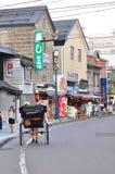 Sakaimachi gata i Otaru, Hokkaido, Japan Arkivbilder