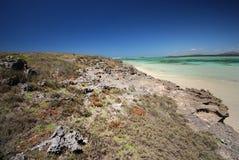sakalava Мадагаскара острова залива утесистое Стоковая Фотография RF