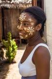Sakalava piękna maska Zdjęcie Stock