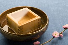 Sake Royalty Free Stock Photography